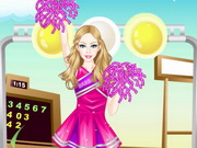 Barbie Cheerleader Dress Up