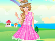 barbie lace fashion dress up play the free game online