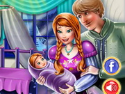 Anna And Kristoff Baby Room