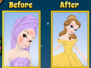 Belle's Princess Makeover