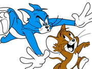 Color Tom And Jerry
