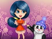 Mimi And Her Panda