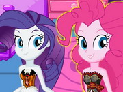Equestria Girls Halloween Makeover