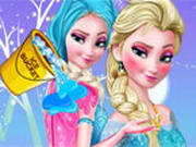 Frozen Elsa Ice Bucket Makeover