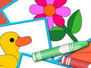 Puzzles And Coloring Games