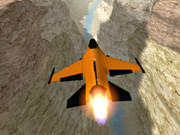 Orange Jet Fighter