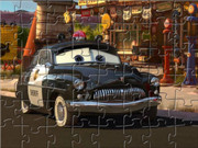 Sheriff Cars Puzzle