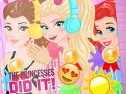 Princesses The Color Run
