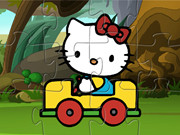 Hello Kitty Car Puzzle