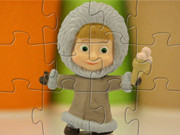 Masha And The Bear Winter Style