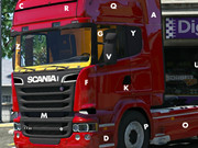 Scania Trucks Hidden Letters