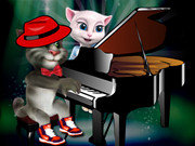 Talking Tom Piano Game