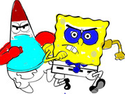 SpongeBob Coloring Book - Play The Free Game Online