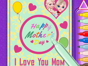 Elsa Mother's Day Card