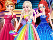 Disney Princesses Prom Dress Fashion