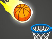 Swipe Basketball Neon - Popular Games - Cool Math Games