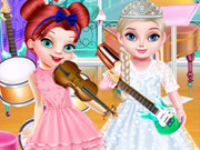 Lovely Princesses Music Class - Popular Games - Cool Math Games