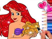 Princess Mermaid Coloring Game