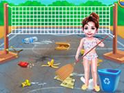 Bebek Taylor Sahil Temizleme Günü