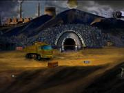 Раскопки угля