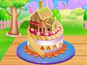 Торт «Кукольный домик» для Августы