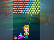 Little Mermaid Bubble Shooter