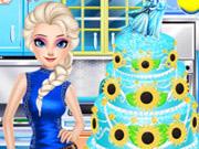 Торт «Холодное сердце» для Марианны