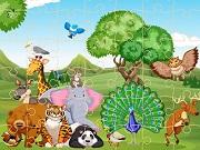 Пазл о диких животных