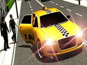 Сумасшедшее 3D такси