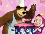Маша и Медведь мчатся готовить