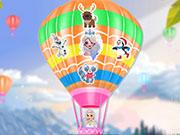 Полет принцесс на воздушном шаре