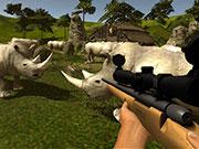 Дикий охотник на носорогов