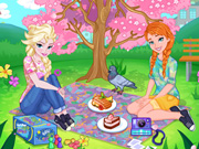 Весенний пикник для Терезы и Фелиции