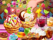 Мороженое с витыми чурросами для Аниты и Лизы