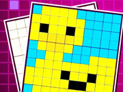 Соединение цветных пикселей